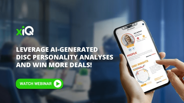 LEVERAGE AI-GENERATED DISC PERSONALITY ANALYSES AND WIN MORE DEALS