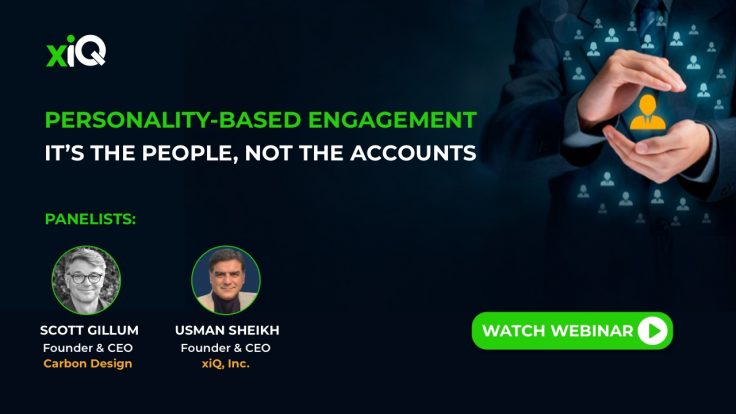 PERSONALITY-DRIVEN ENGAGEMENT (PDE): IT'S THE PEOPLE, NOT THE ACCOUNTS
