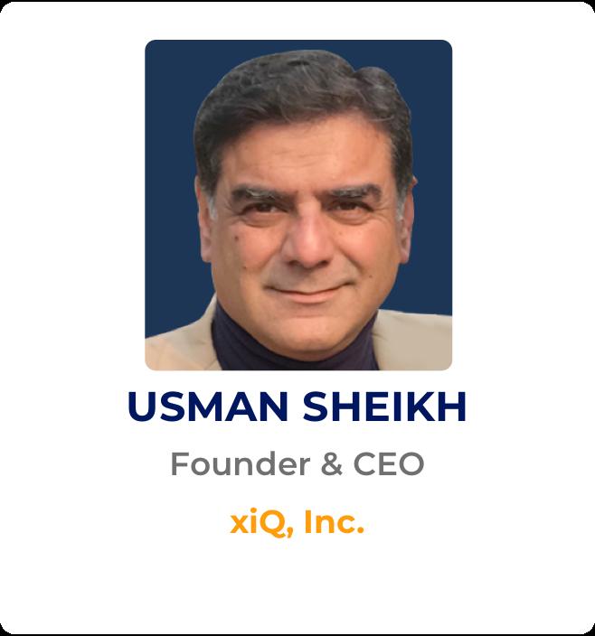 Usman Sheikh xiQ Founder