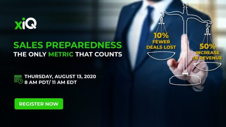 SALES PREPAREDNESS: THE ONLY METRIC THAT COUNTS