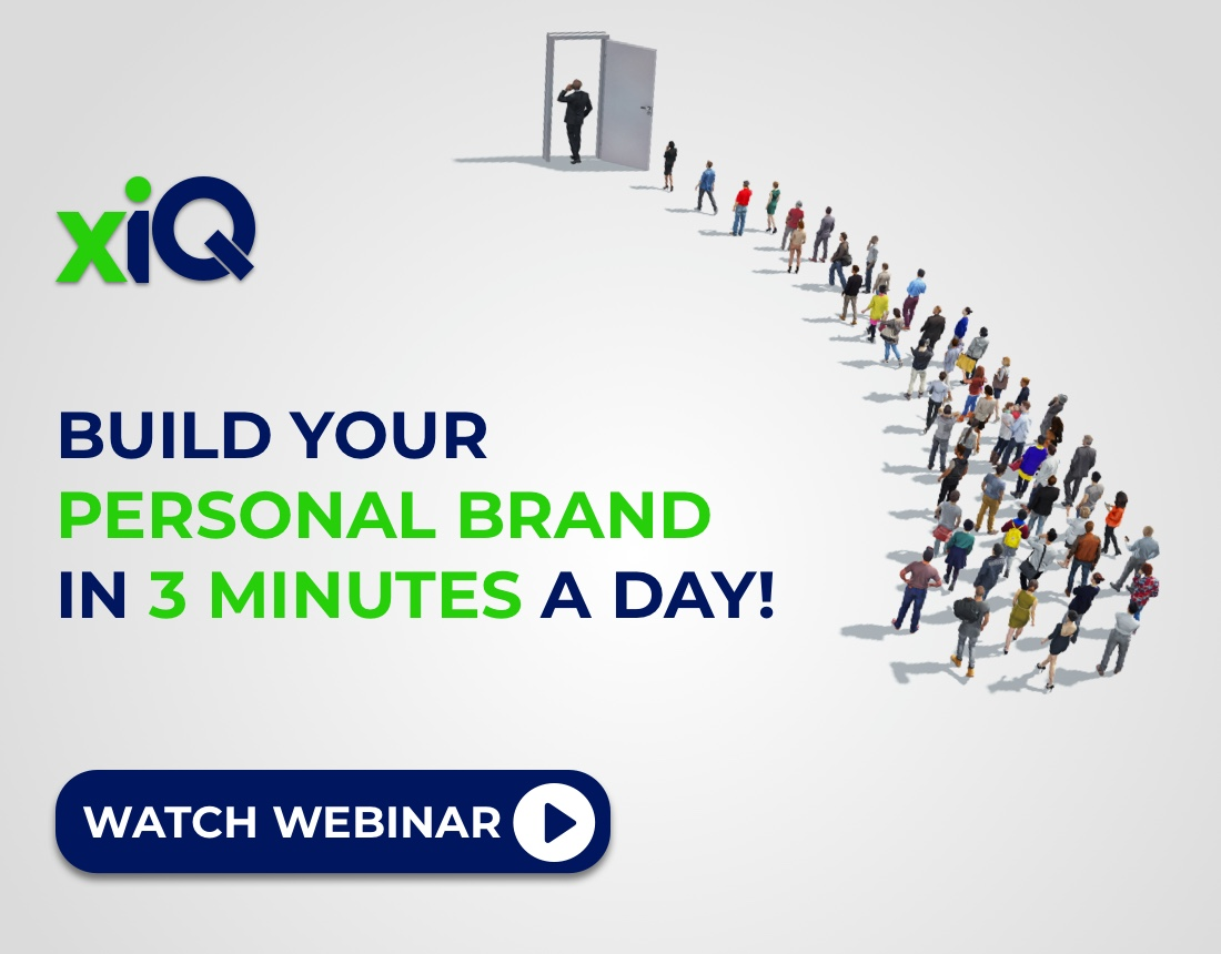 Build Your Personal Brand in 3 Minutes a Day!