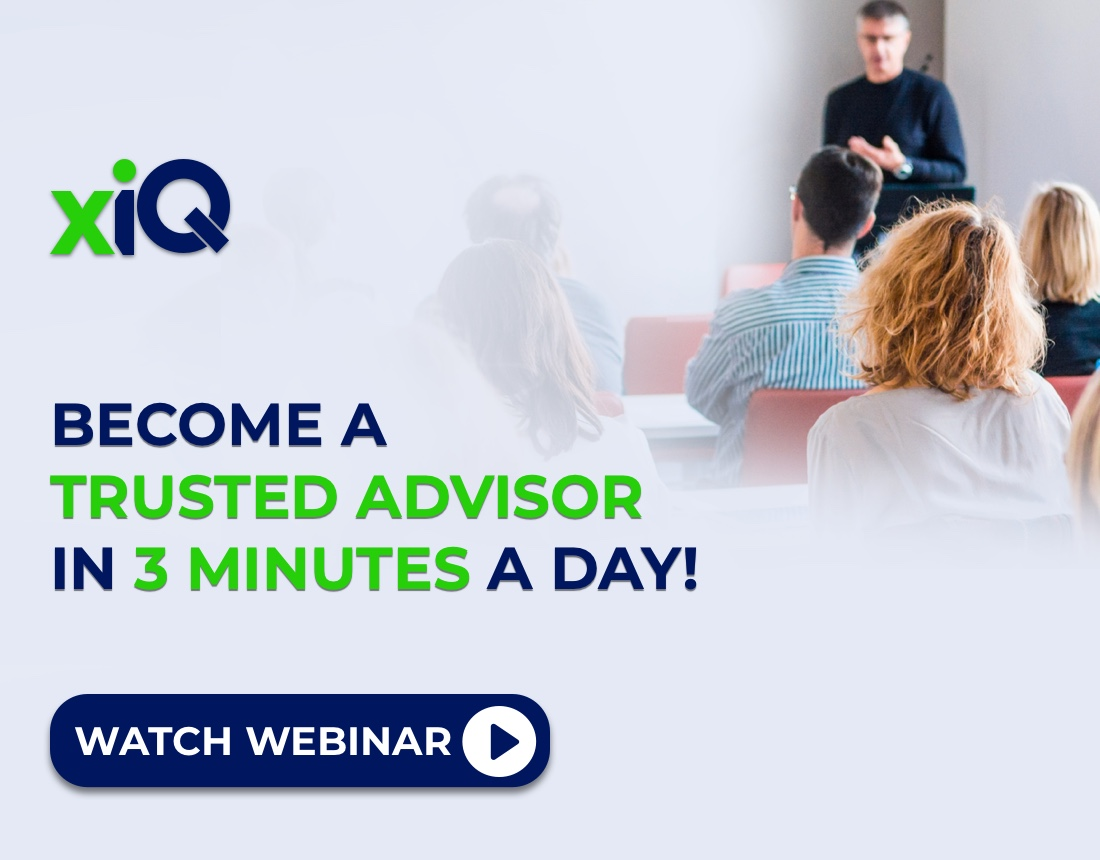 Become a Trusted Advisor in 3 Minutes a Day!