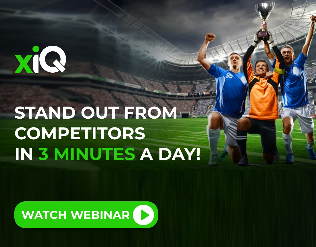 Stand Out from Competitors in 3 Minutes a Day!