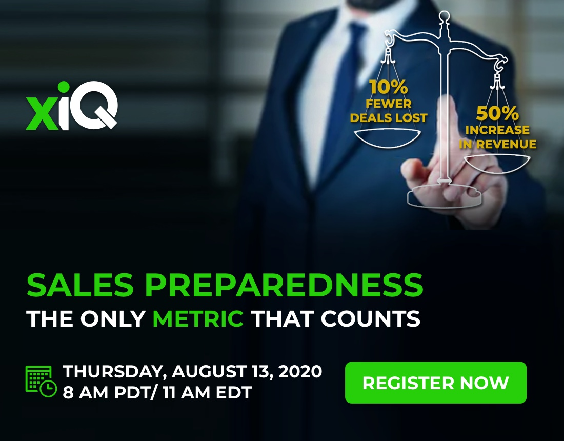 Sales Preparedness: The Only Metric that Count