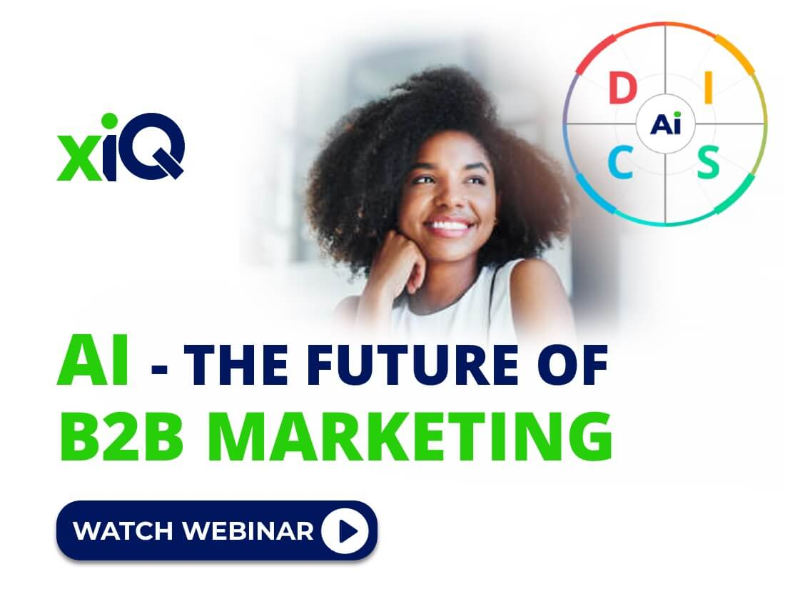 AI – The Future Of B2B Marketing