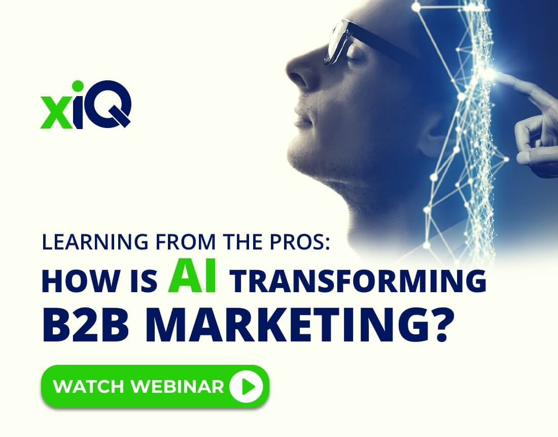 Learning From The Pros: How Is AI Transforming B2B Marketing