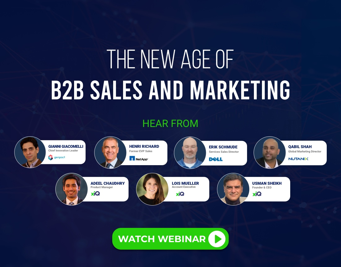 The New Age of B2B Sales and Marketing