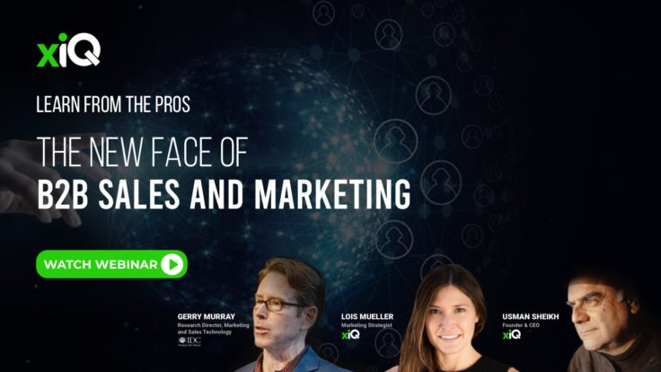 THE NEW FACE OF B2B SALES AND MARKETING