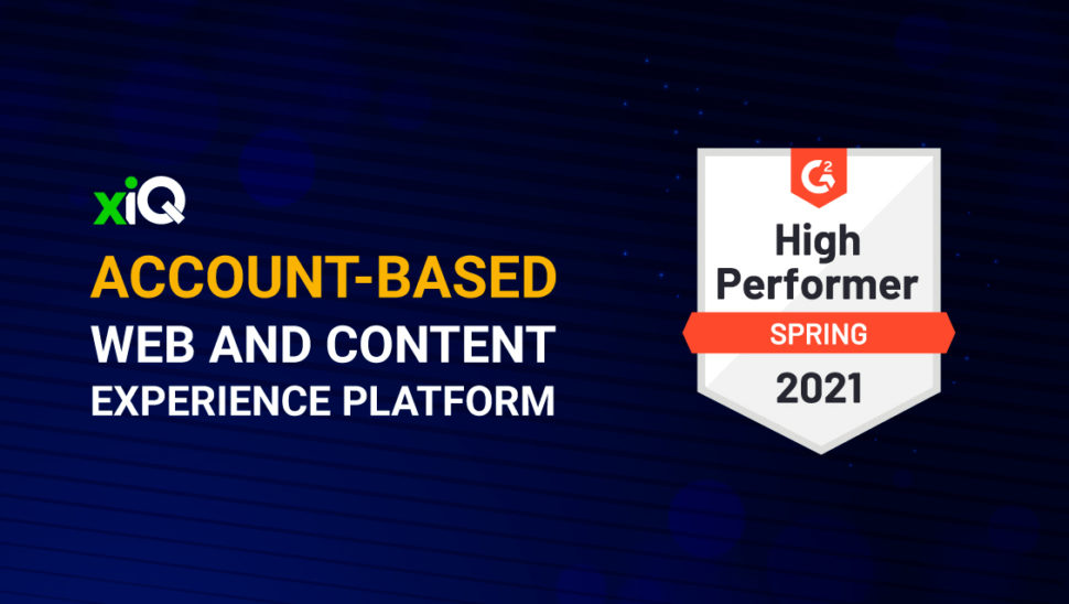 Leading Account-Based Web & Content Experiences (ABM) and Sales Intelligence