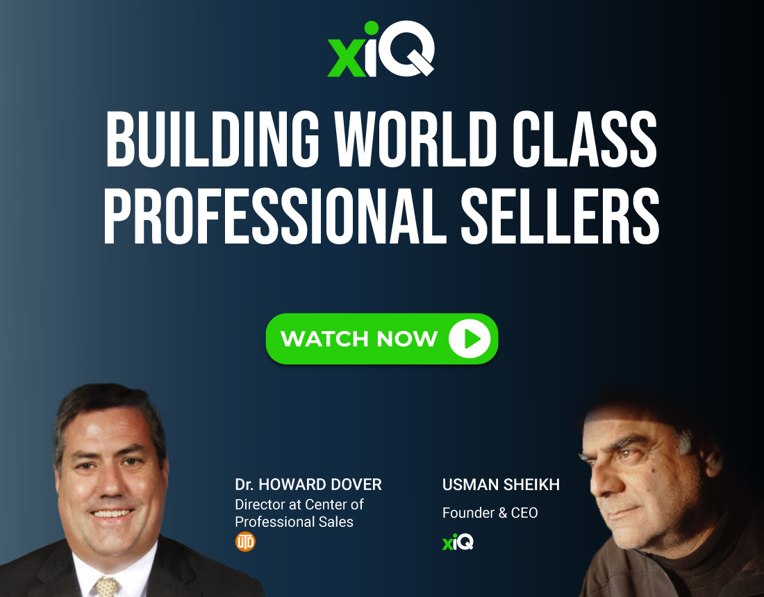 Building World Class Professional Sellers