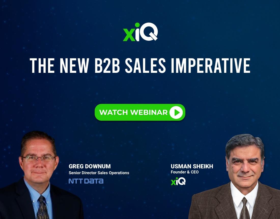 The New B2B Sales Imperative