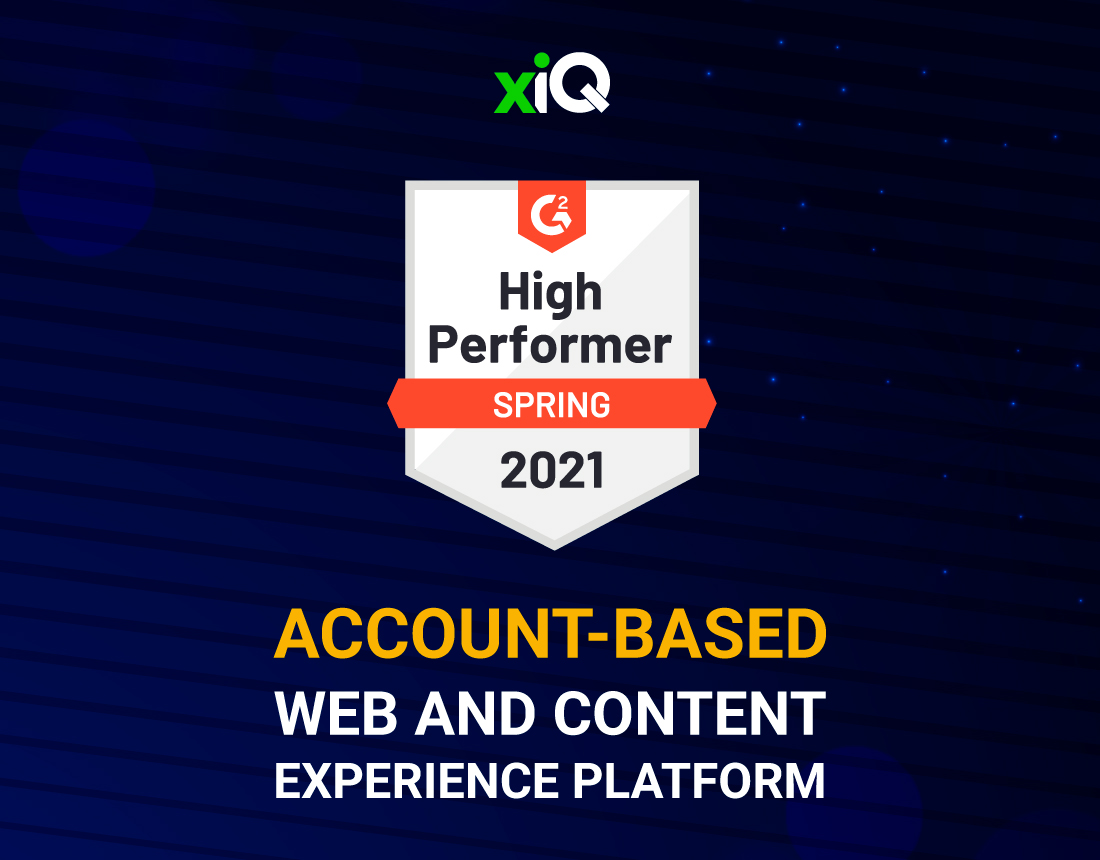 xiQ, Top Performer in G2, Provides Leading ABM and Sales Intelligence